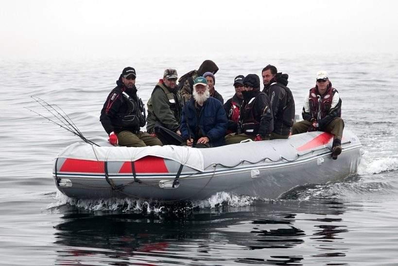 рыболовный тур шантарские острова