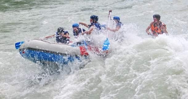 Рафтинг на реке Чуя на Алтае