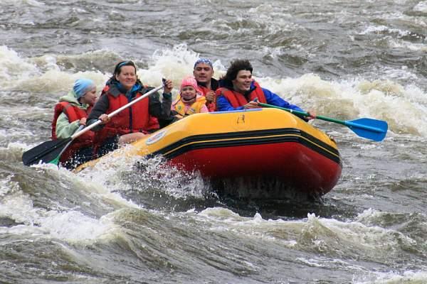 Рафтинг по реке Иркут на Байкале