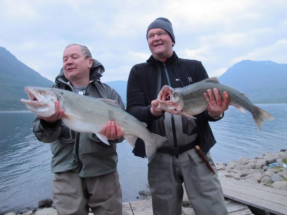 Рыбалка на озеро лама